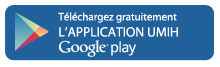 L'UMIH sur Google Play