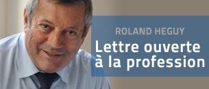Lettre ouverte de Roland Héguy